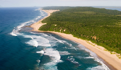 Ariel-view-of-Thonga-Beach-Lodge